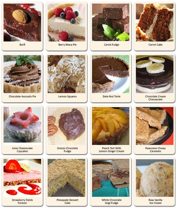 100 healthy raw recipe